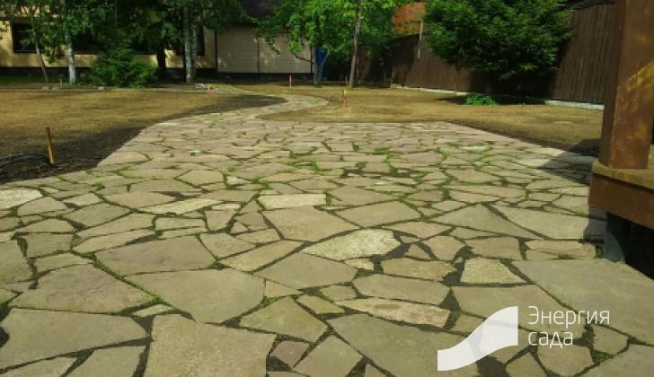Природный камень в ландшафтном дизайне.
