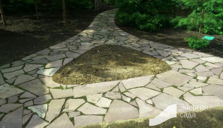 Проектирование посадочных мест в саду.