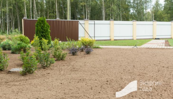 Подготовка основания под газон