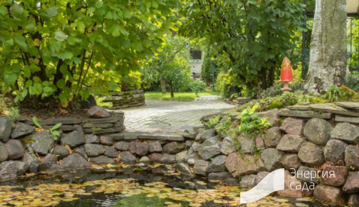 Использование природного камня в проектировании сада